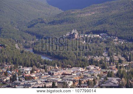 Banff in summer
