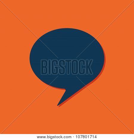 Vector callout icon