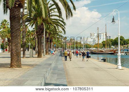 Barcelona. Barceloneta Beach.