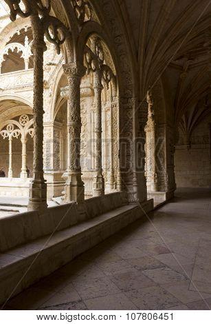 Hallway Of Jeronimos Monastery