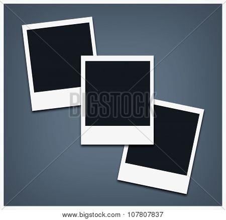 Polaroid Empty Photo Frame
