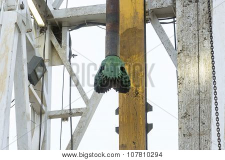 Gas Drilling Head