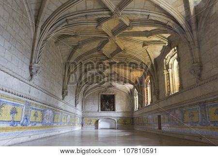 Room Interiors Of Jeronimos Monastery