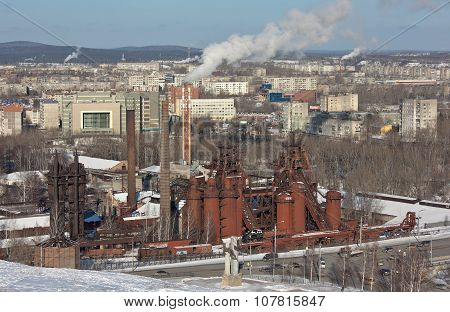 NIZHNY TAGIL, SVERDLOVSK REGION, RUSSIA-NOVEMBER 09, 2015: Photo of Demidov factory. Factory - Museu