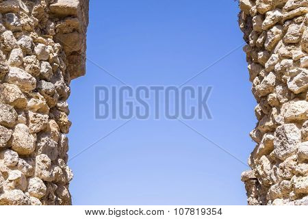 Architectural Part Of Ancient Fortress