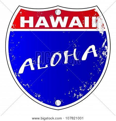 Hawaii Interstate Sign