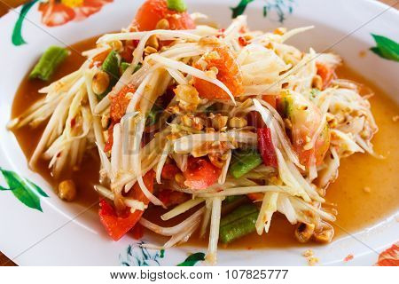 Papaya Salad.