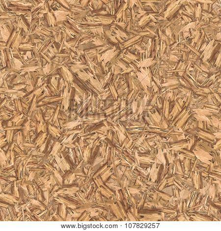 Pressed wooden panel background seamless texture.