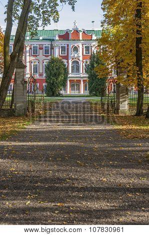Palace Kadriorg in Tallinn Estonia