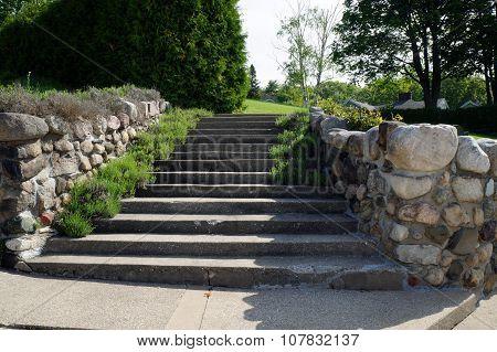 Cement Stairway