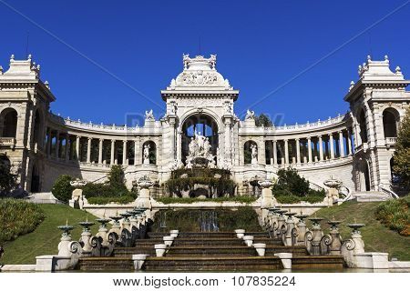 Palais Longchamp In Marseilles In France