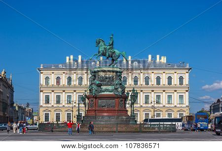 Monument To Emperor Nicholas I