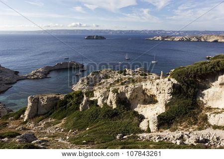 Frioul Archipelago In France