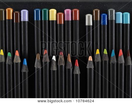 Sharp Artist Pencils