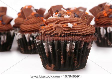 Holiday Chocolate Cupcakes