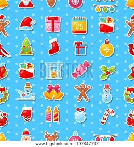 Christmas Holiday Seamless Texture