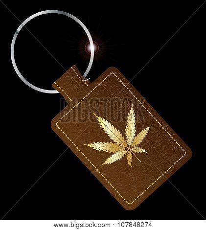 Marijuana Key Fob