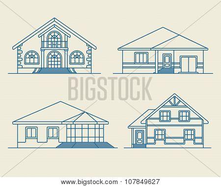 Houses linear 3