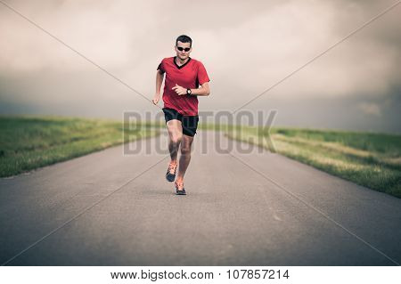 Man Running, Motivation And Inspiration Training
