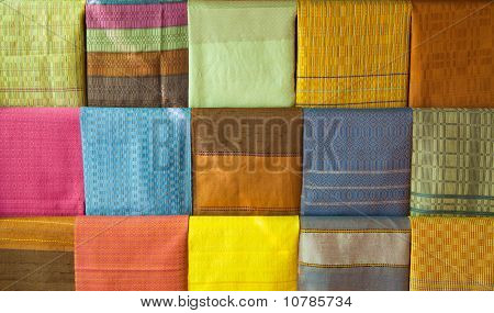 Hand Made Variety Pattern Thai Silk