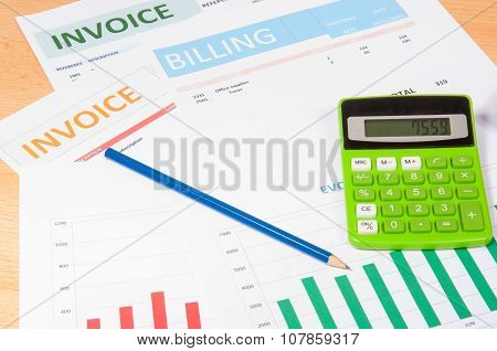 Invoices With Calculator
