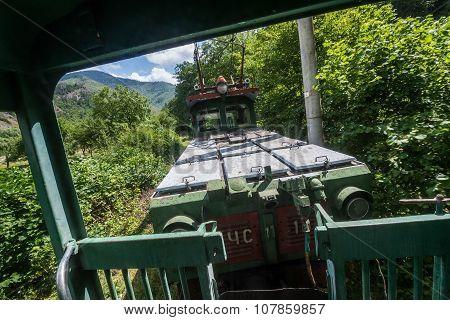 Narrow Gauge Railway In Georgia