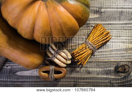 Autumn Harvest Still Life