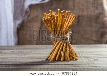 One Sheaf Of Stick Biscuits