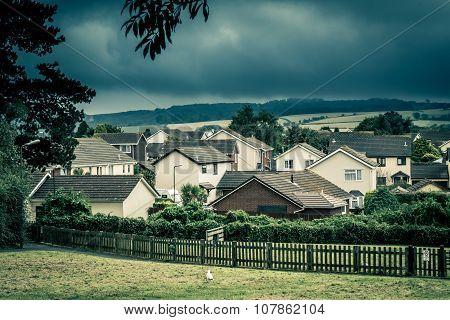 Quiet residential area