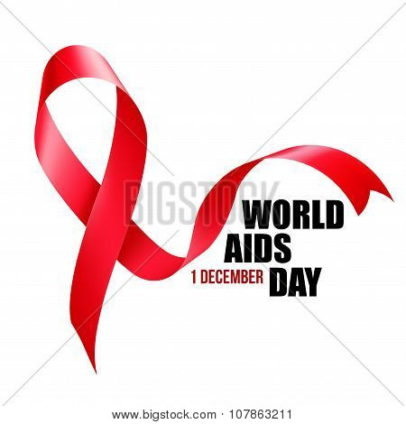 Aids Awareness. World Aids Day concept. Vector illustration