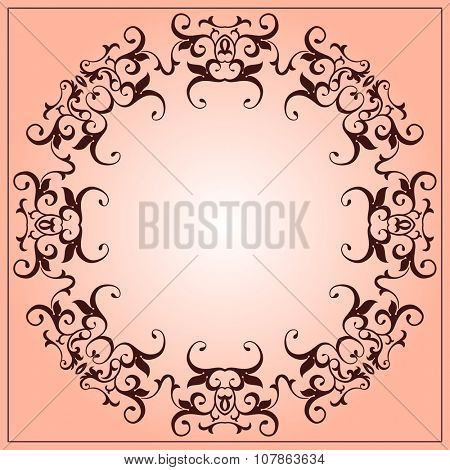 Flourish Ornamental Design Vector Art