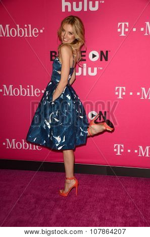 LOS ANGELES - NOV 10:  Bar Paly at the T-Mobile Un-carrier X Launch Celebration at the Shrine Auditorium on November 10, 2015 in Los Angeles, CA