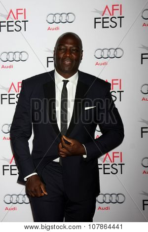 LOS ANGELES - NOV 10:  Adewale Akinnuoye-Agbaje at the AFI Fest 2015 Presented by Audi -