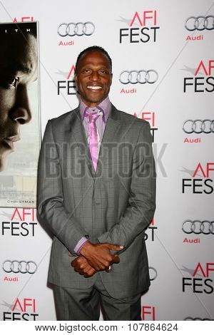LOS ANGELES - NOV 10:  Willie Gault at the AFI Fest 2015 Presented by Audi -