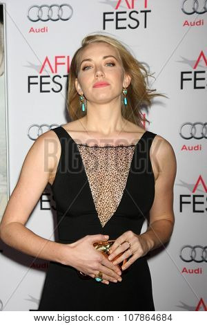 LOS ANGELES - NOV 10:  Sara Lindsey at the AFI Fest 2015 Presented by Audi -