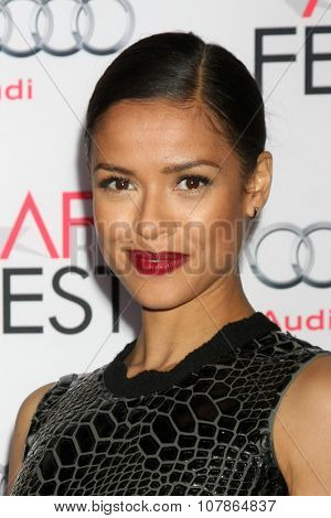 LOS ANGELES - NOV 10:  Gugu Mbatha-Raw at the AFI Fest 2015 Presented by Audi -