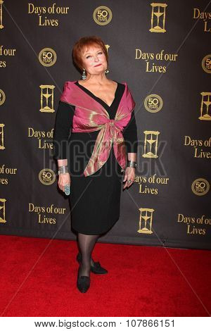 LOS ANGELES - NOV 7:  Maree Cheatham at the Days of Our Lives 50th Anniversary Party at the Hollywood Palladium on November 7, 2015 in Los Angeles, CA