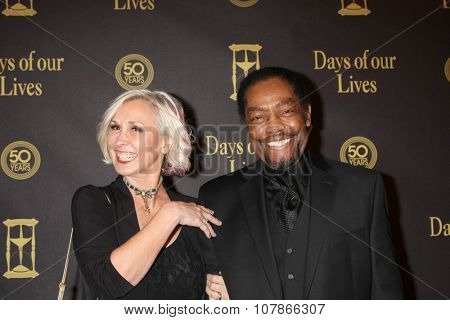 LOS ANGELES - NOV 7:  Lissa Reynolds, James Reynolds at the Days of Our Lives 50th Anniversary Party at the Hollywood Palladium on November 7, 2015 in Los Angeles, CA