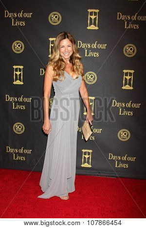 LOS ANGELES - NOV 7:  Marie Wilson at the Days of Our Lives 50th Anniversary Party at the Hollywood Palladium on November 7, 2015 in Los Angeles, CA