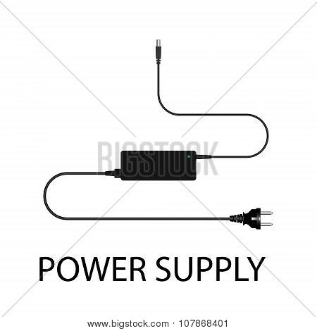 Laptop And Power Supply