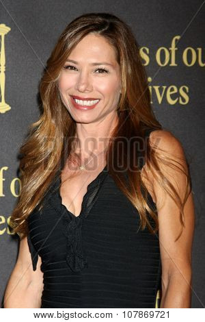 LOS ANGELES - NOV 7:  Sarah Brown at the Days of Our Lives 50th Anniversary Party at the Hollywood Palladium on November 7, 2015 in Los Angeles, CA