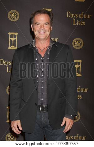 LOS ANGELES - NOV 7:  Wally Kurth at the Days of Our Lives 50th Anniversary Party at the Hollywood Palladium on November 7, 2015 in Los Angeles, CA