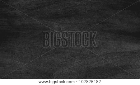Close up of clean school blackboard