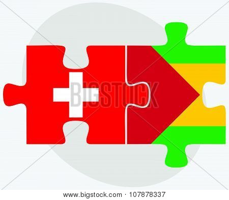 Switzerland And Sao Tome And Principe