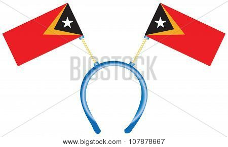 Headdress With Flags East Timor