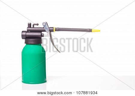 Green Oil Can