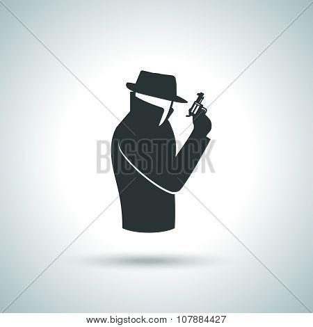 Secret agent icon