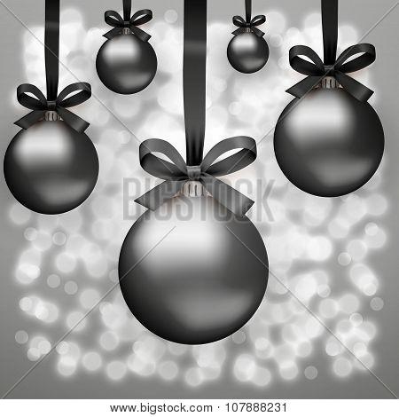 Black Friday glass balls