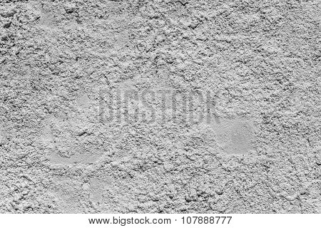 Wall From Sandstone With Gray Whitewashing