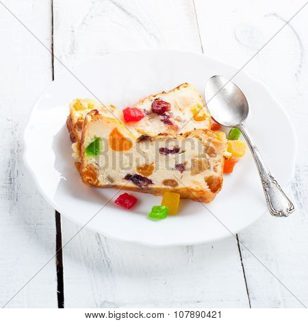 Sweet Pie With Dried Fruits